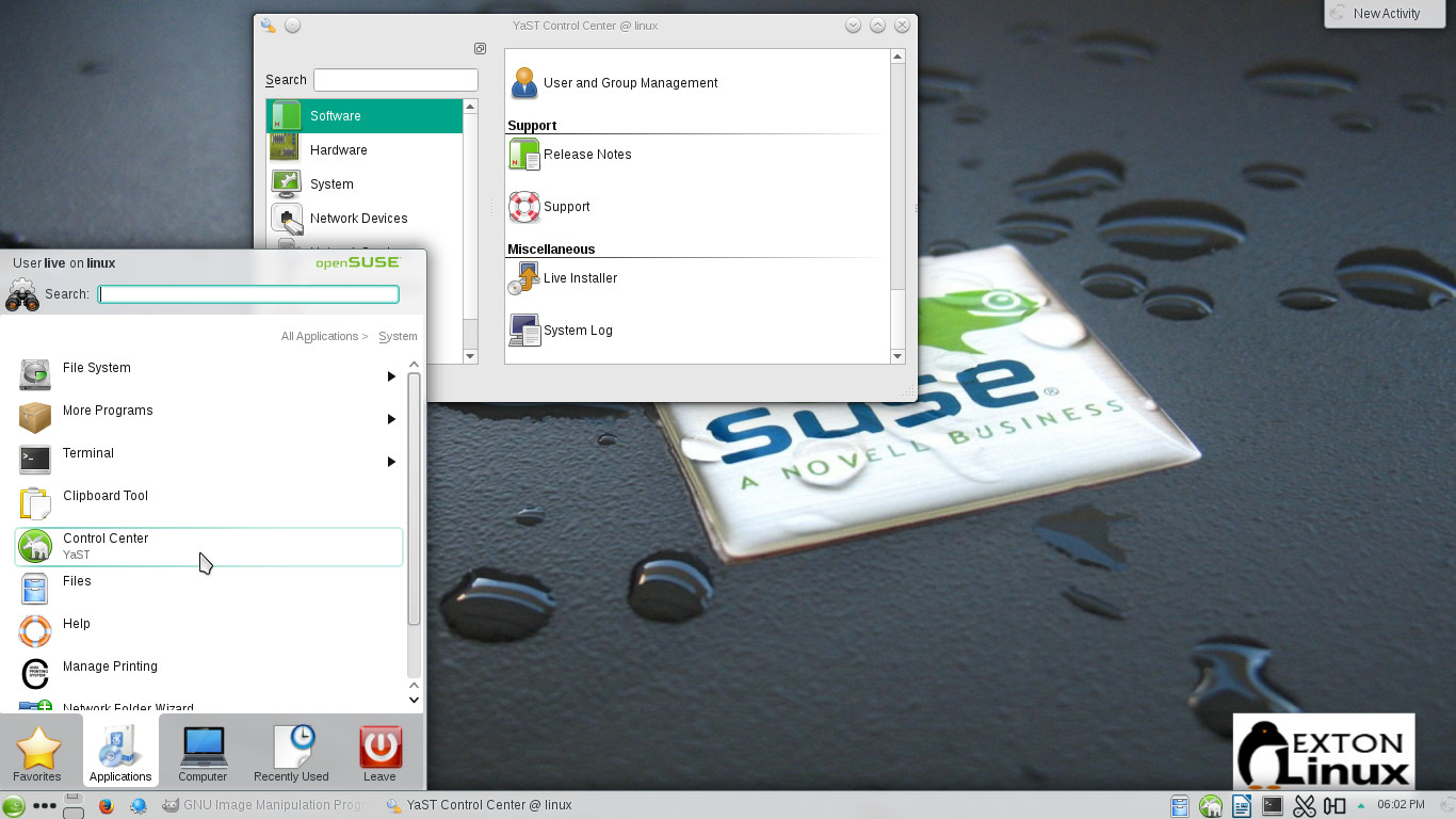 OpenSUSE – Exton's International Blog
