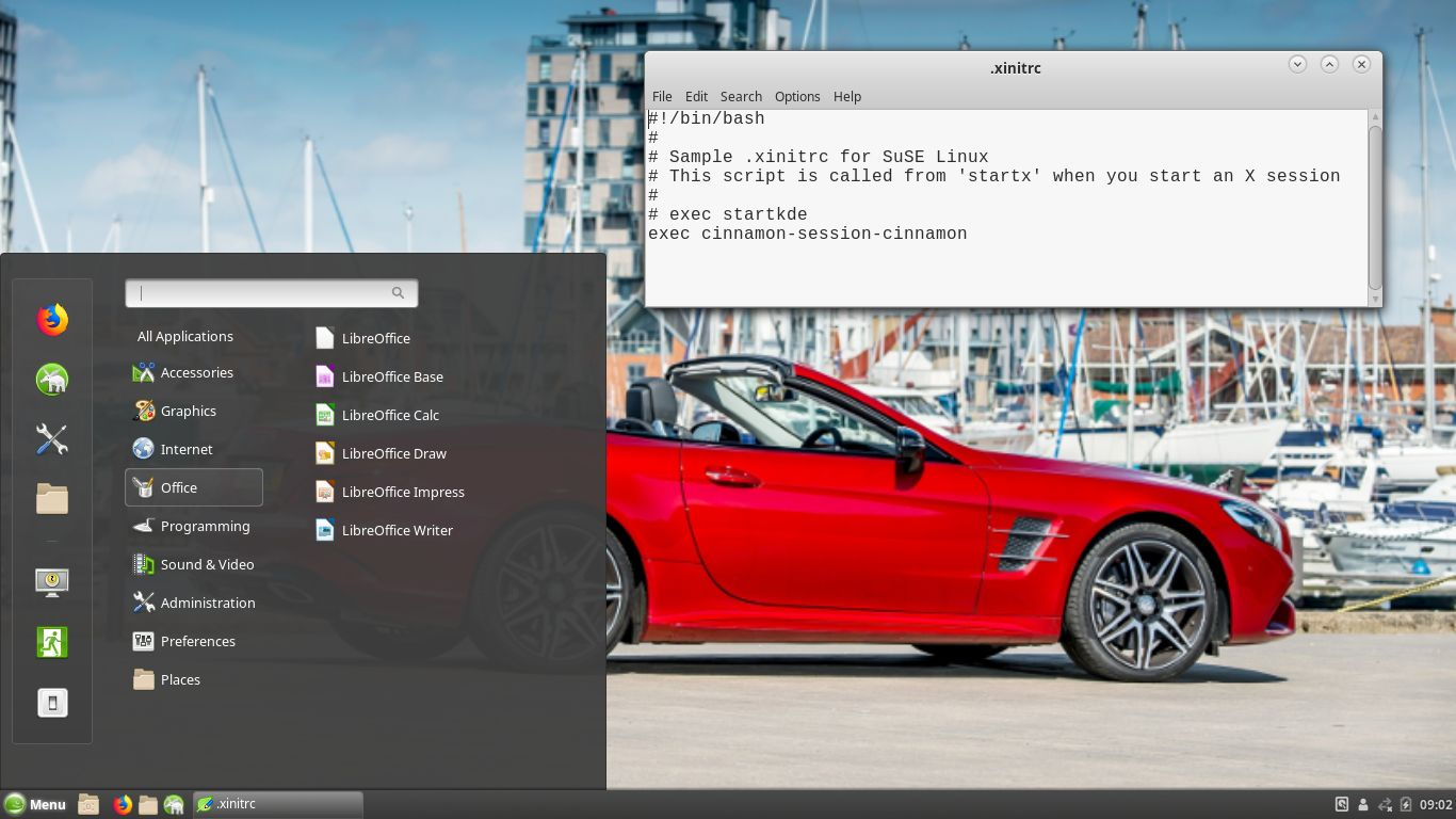 EXTON OpSuS Linux Live USB